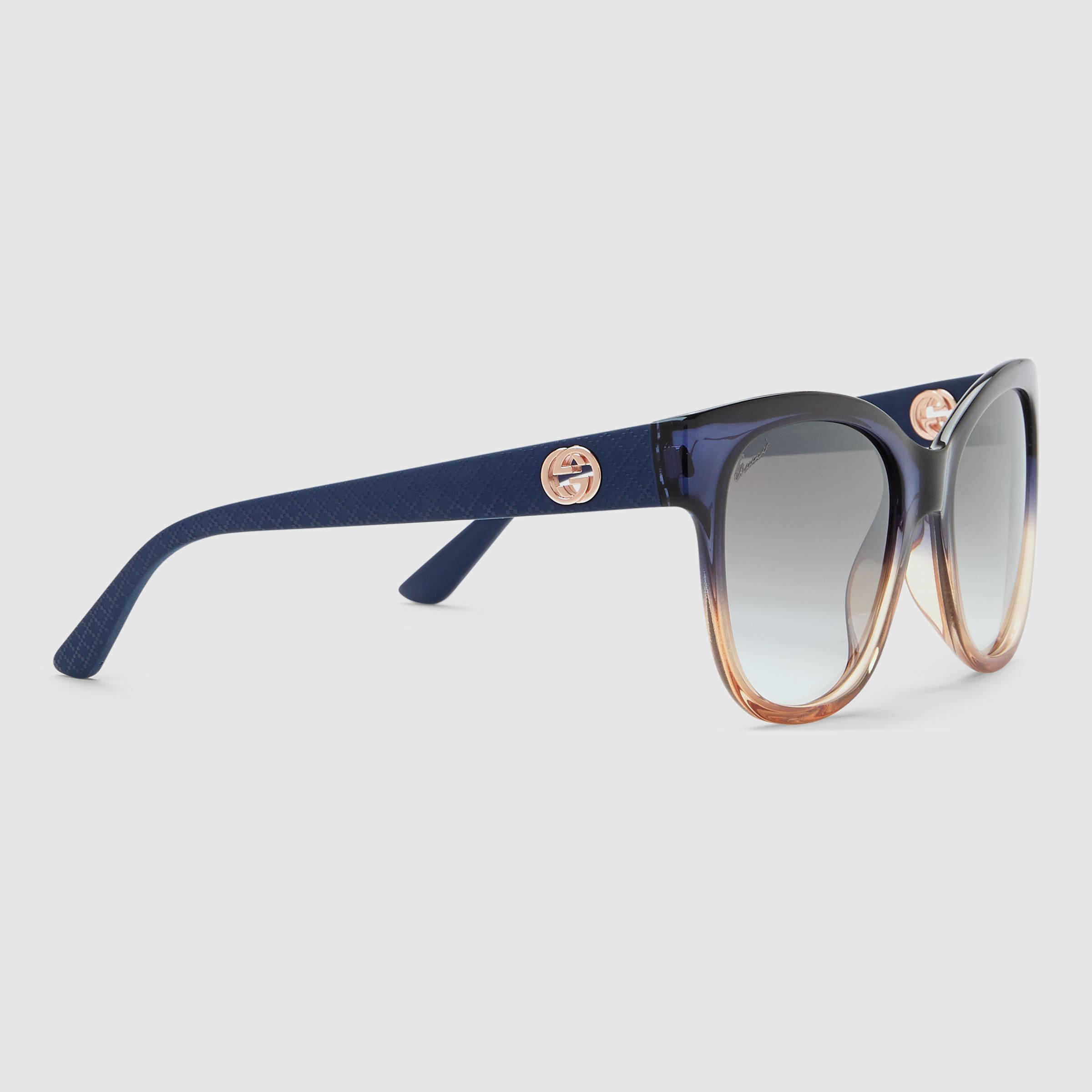 dfedc04821fe4 Gucci Blue Frames