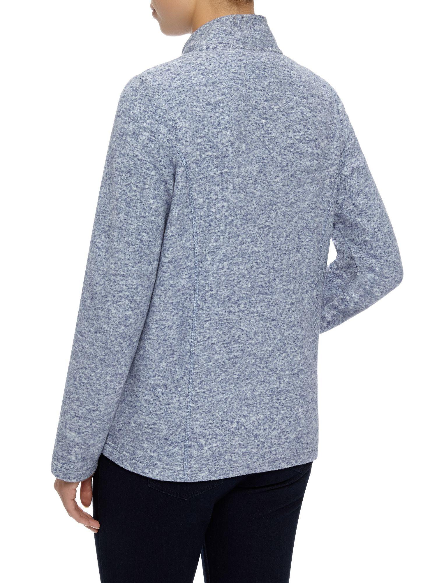 Dash Fleece Jacket In Blue Lyst