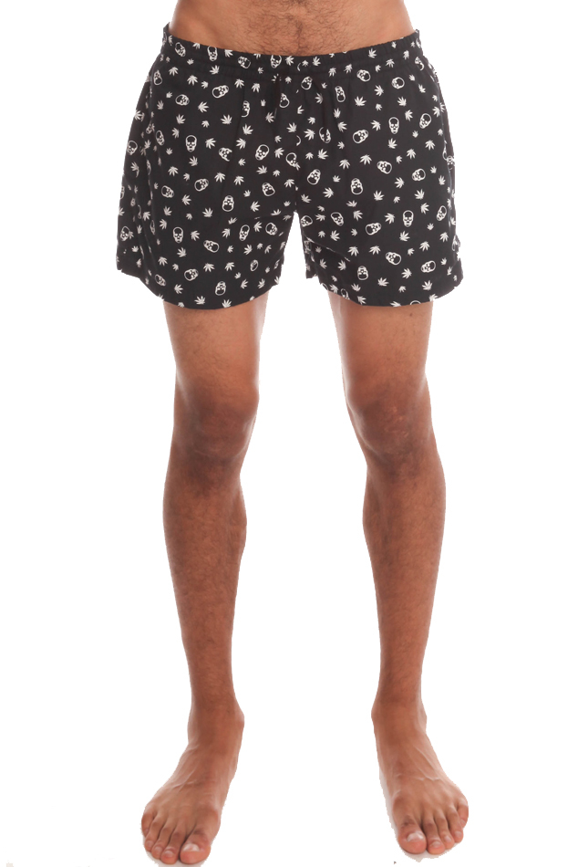 Lucien pellat finet Swim Trunks in Black for Men