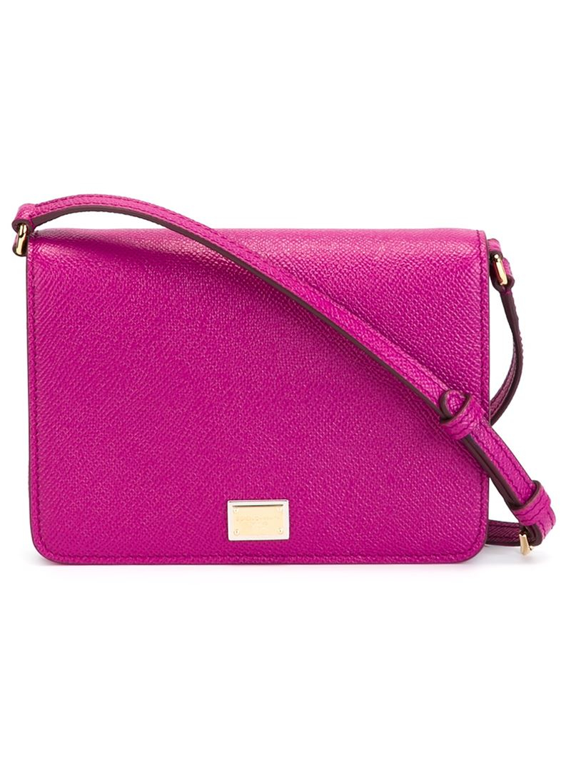 299e0def51d0 Lyst - Dolce   Gabbana  Glam  Crossbody Bag in Pink