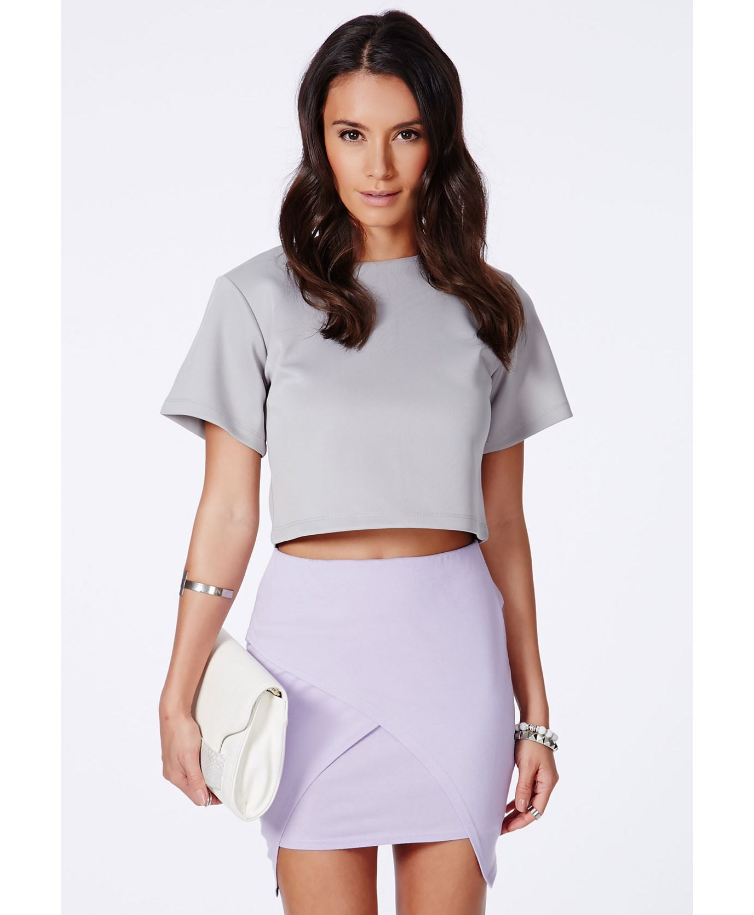 Wrap Over Mini Skirt | Jill Dress