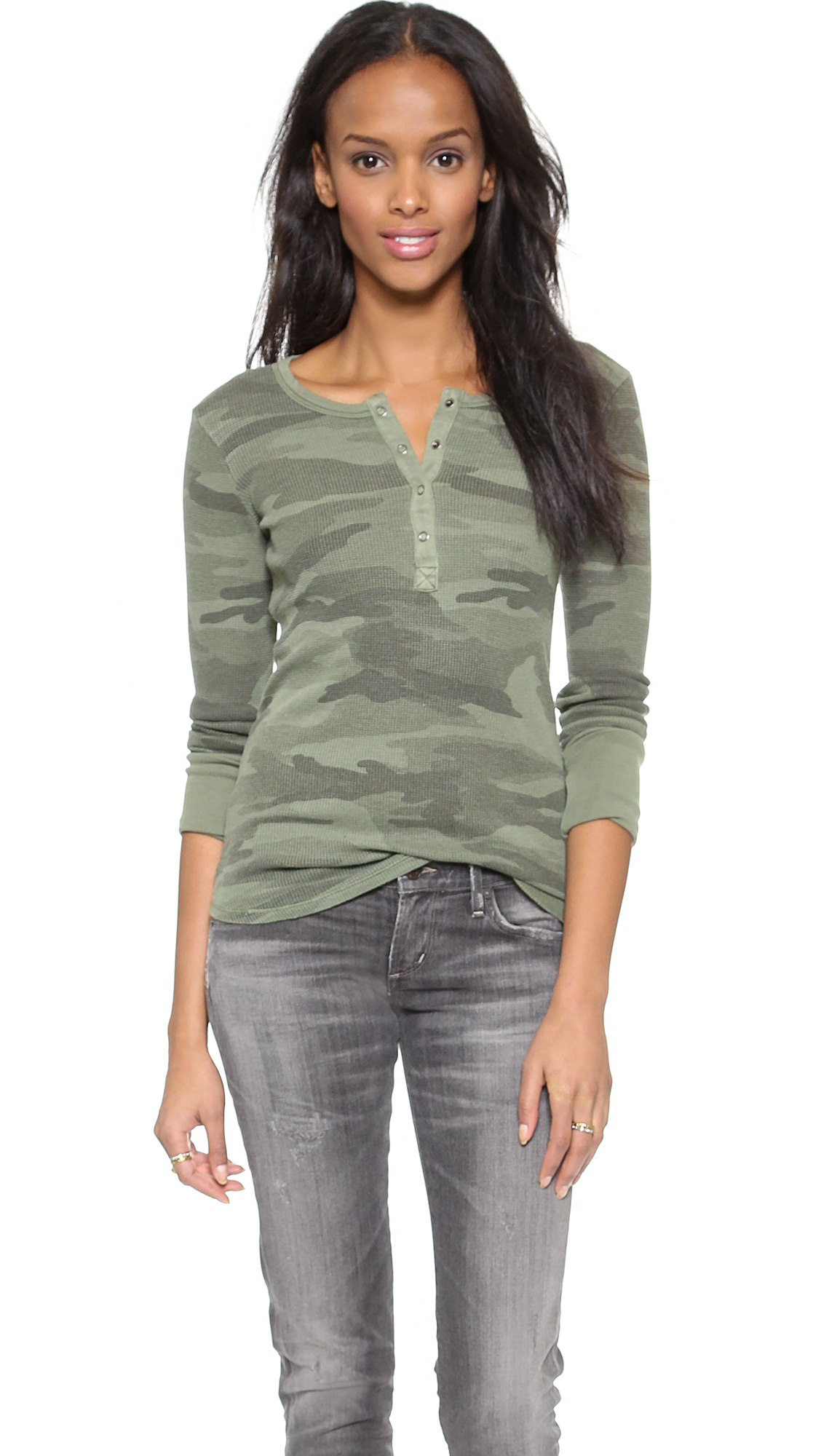 Henley T Shirts For Women