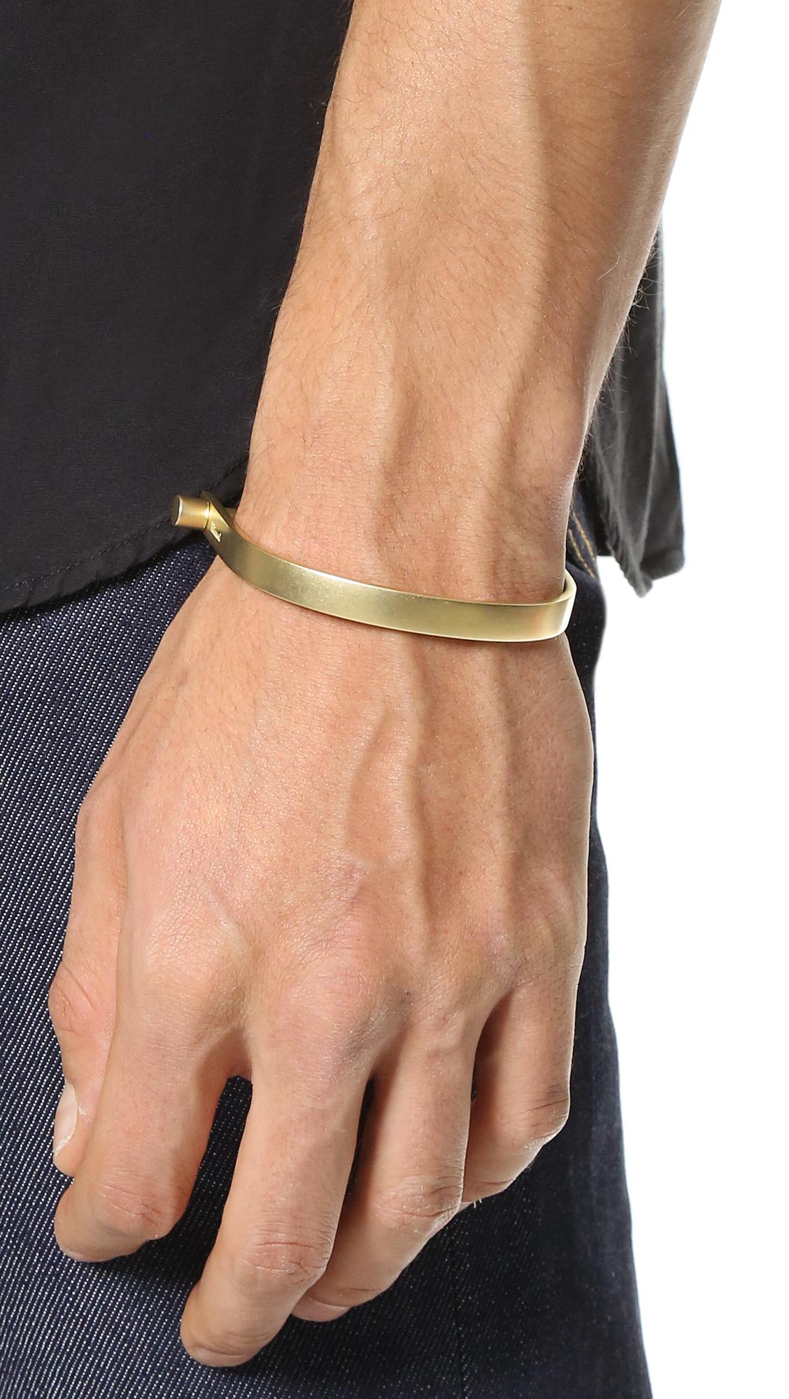 Lyst Miansai U Cuff In Metallic For Men