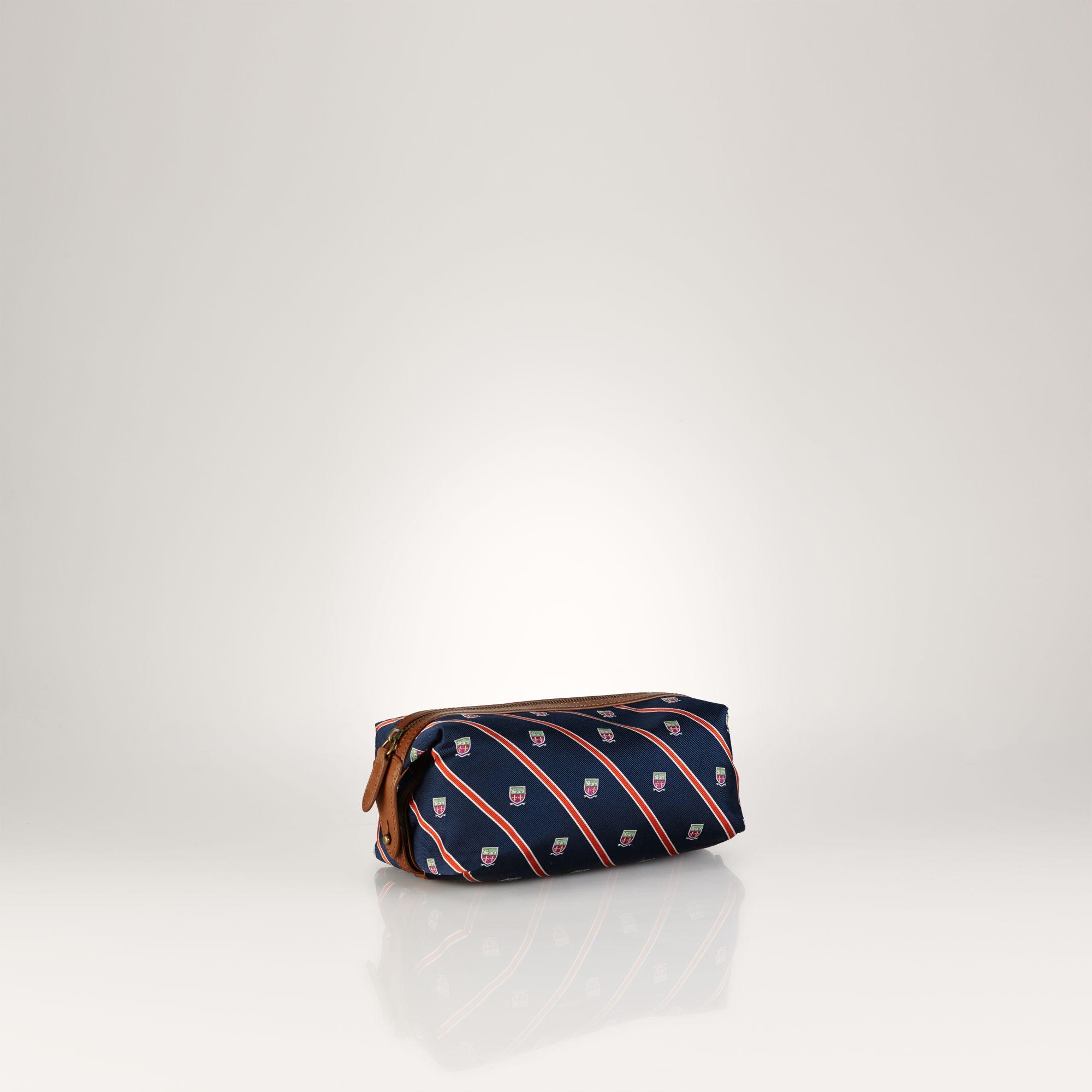 953105f6e188 Polo Ralph Lauren Tie Silk Shaving Kit in Blue for Men - Lyst