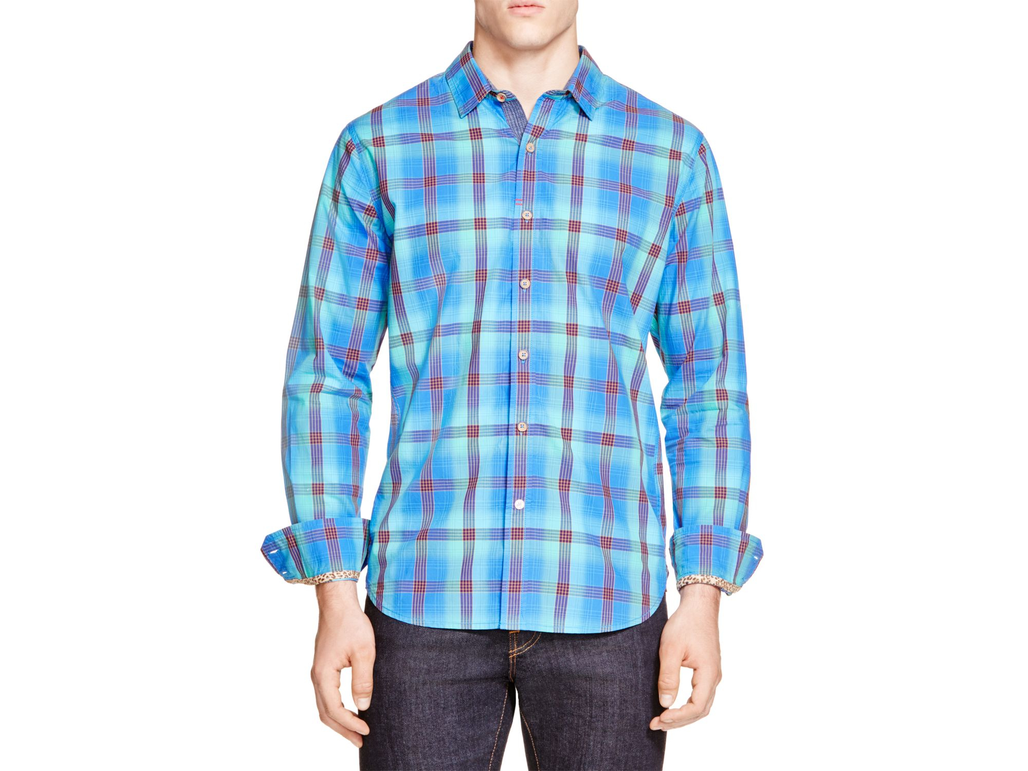 Lyst Robert Graham Whoville Plaid Classic Fit Button