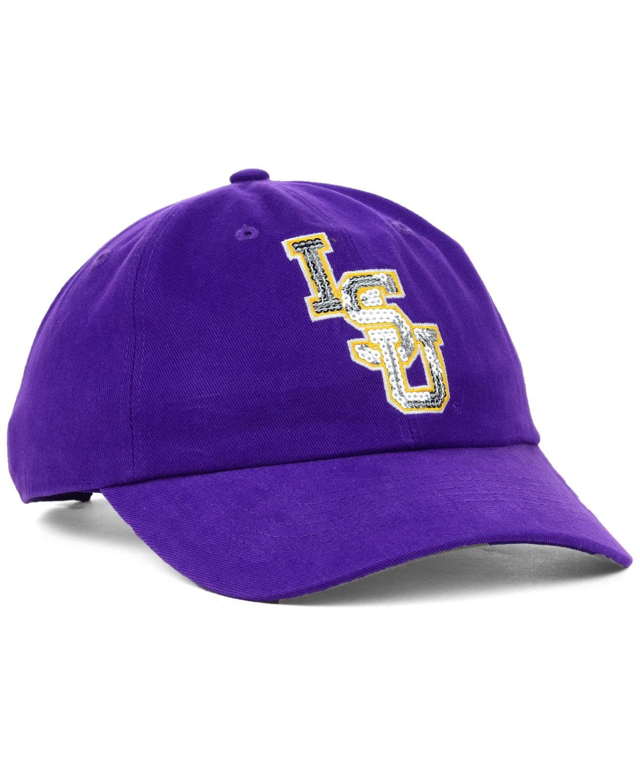 Lyst - 47 Brand Women s Lsu Tigers Natalie Sparkle Cap in Purple 2ae961de1e