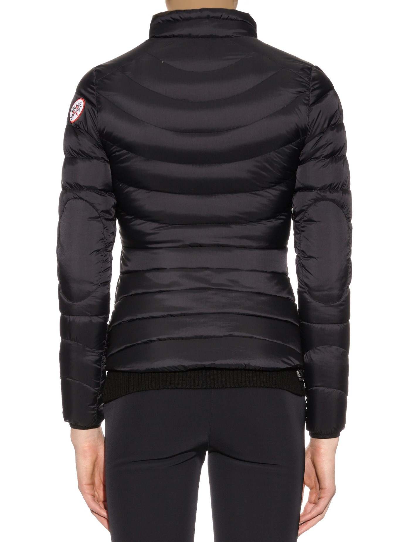 Perfect Moment Mini Duvet Quilted Down Jacket In Black Lyst