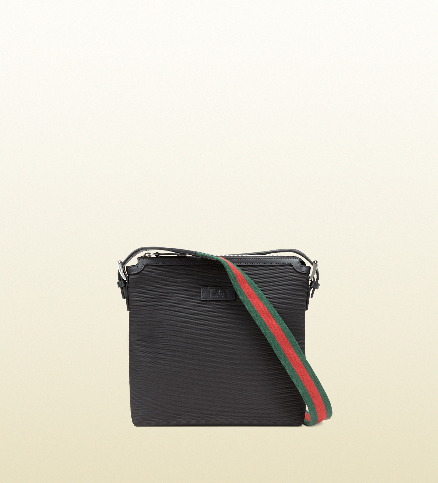 f04b7184c Gucci Techno Canvas Messenger Bag in Black for Men - Lyst