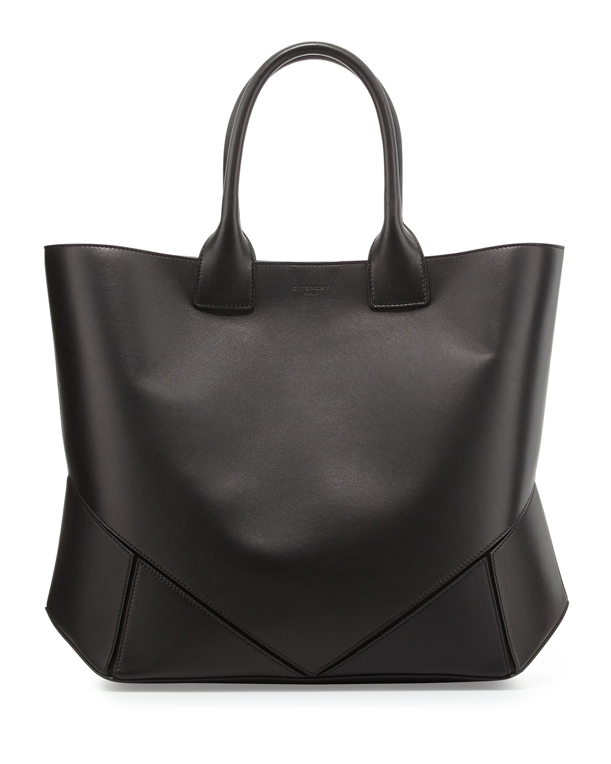Lyst - Givenchy Easy Medium Leather Tote Bag in Black - photo#48