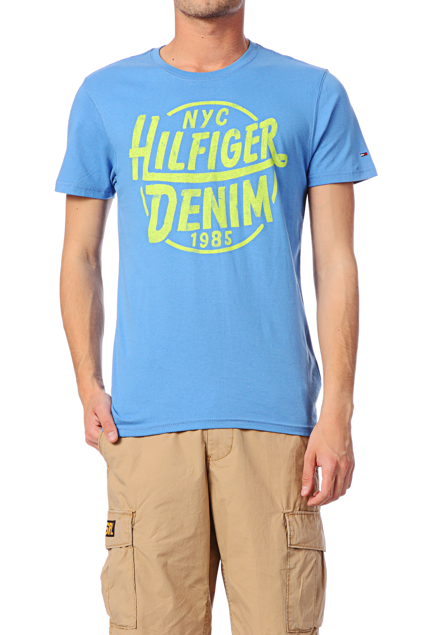 hilfiger denim blue short sleeve t shirt 1957846891 federer cn tee ss. Black Bedroom Furniture Sets. Home Design Ideas