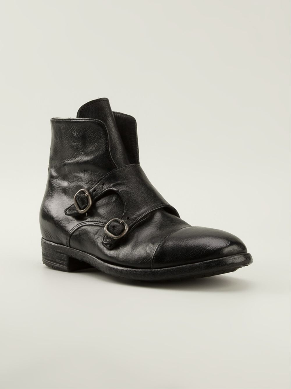 Lyst Officine Creative Rozier Ankle Boots In Black