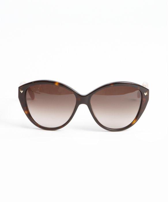 Tortoise Print Sunglasses  marc by marc jacobs brown tortoise print acrylic round heart