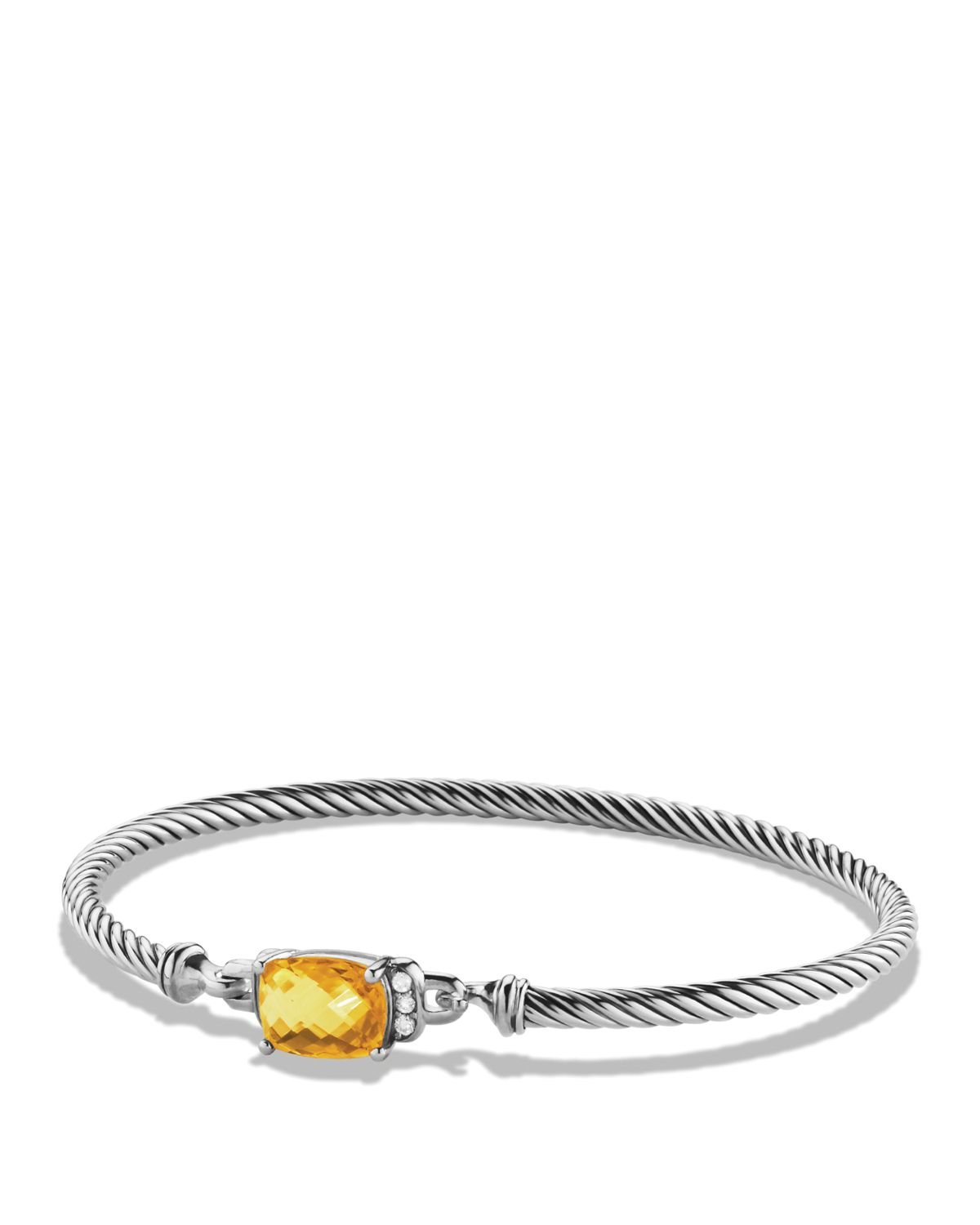david yurman wheaton bracelet with citrine and