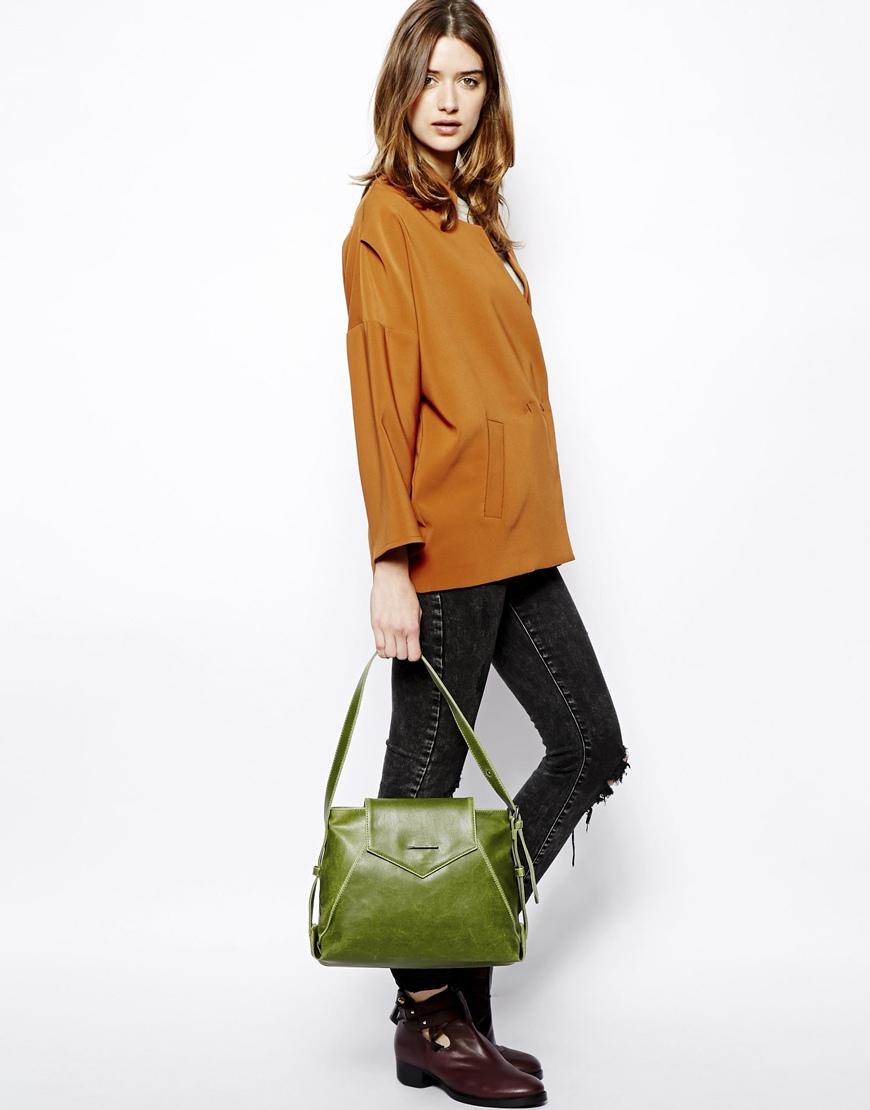 lyst matt nat vintage green hobo bag in green. Black Bedroom Furniture Sets. Home Design Ideas