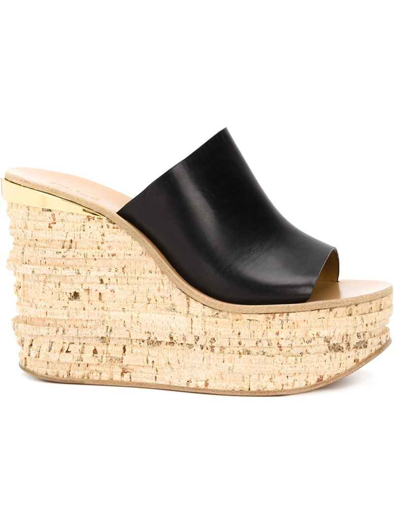 buy cheap shop for Chloé Camille leather platform sandals cheap for nice cheap sale really free shipping real 100% original online 6KulJQro4