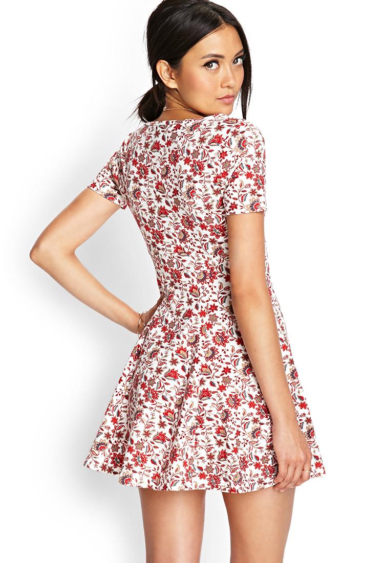 Short Sleeve Skater Dress Forever 21 - Photo Dress Wallpaper HD AOrg 220646c18