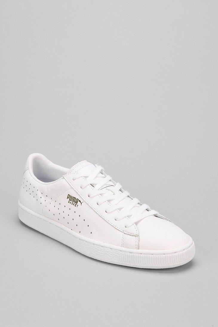 Lyst - PUMA Basket Classic Citi Series Sneaker in White for Men 1b1da5490