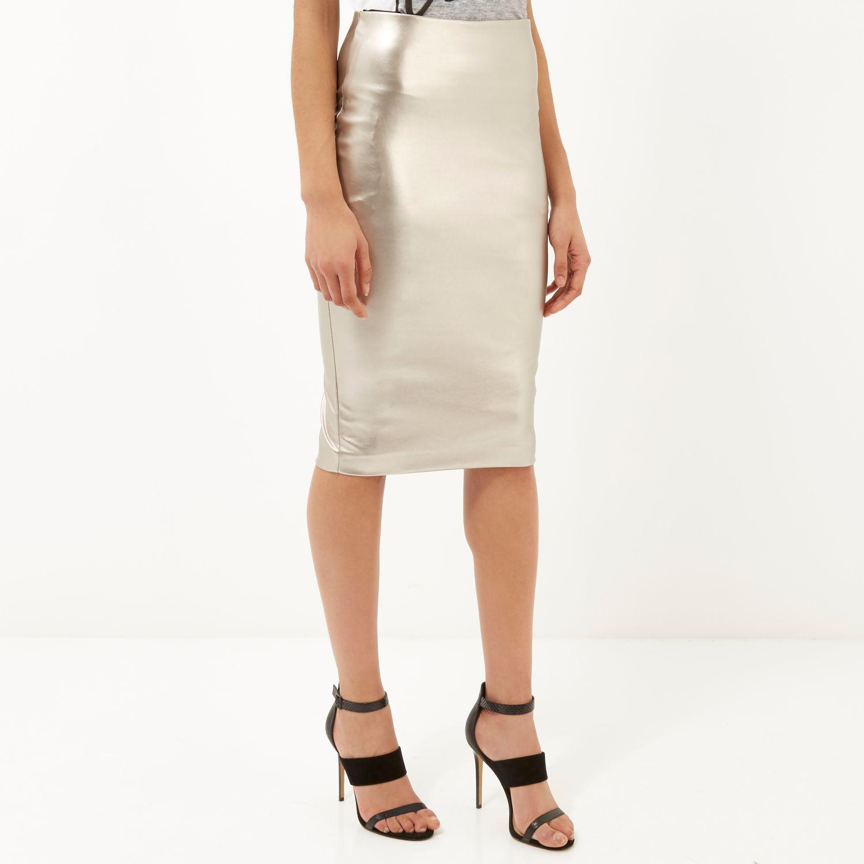 22457120b40 Gallery. Women s Metallic Skirts Women s Handkerchief Skirts Women s Silver  ...