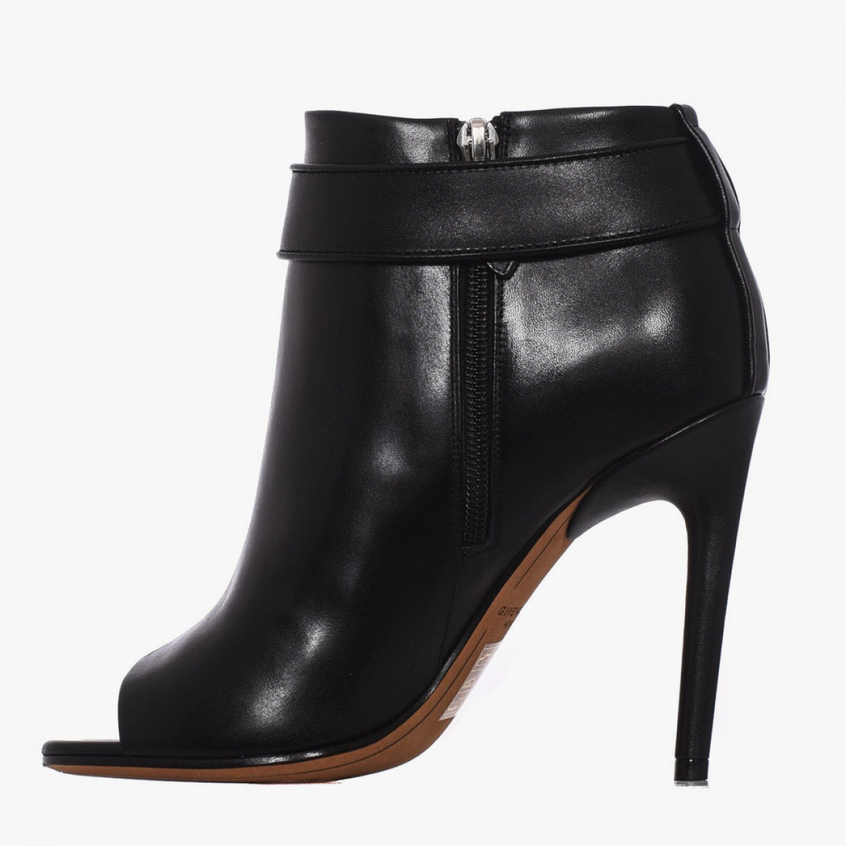 givenchy shark leather ankle boots in black lyst