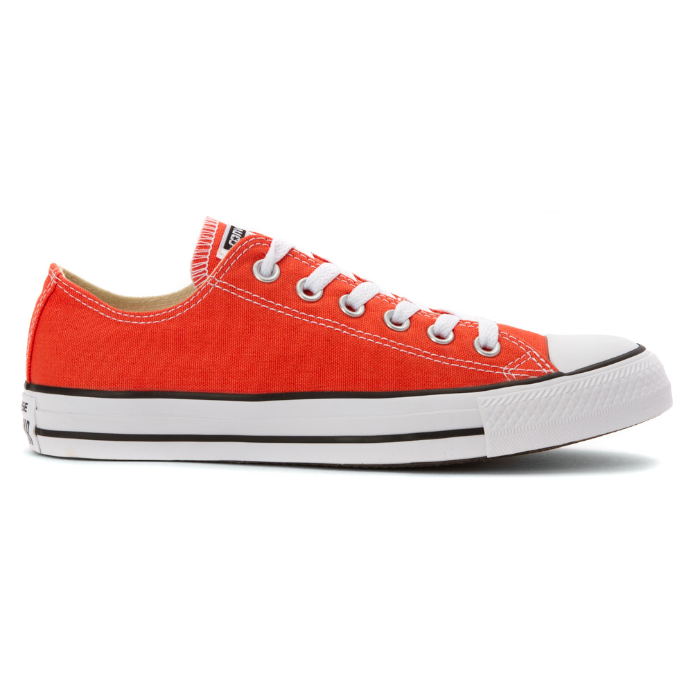 lyst converse chuck taylor all star low top in orange. Black Bedroom Furniture Sets. Home Design Ideas