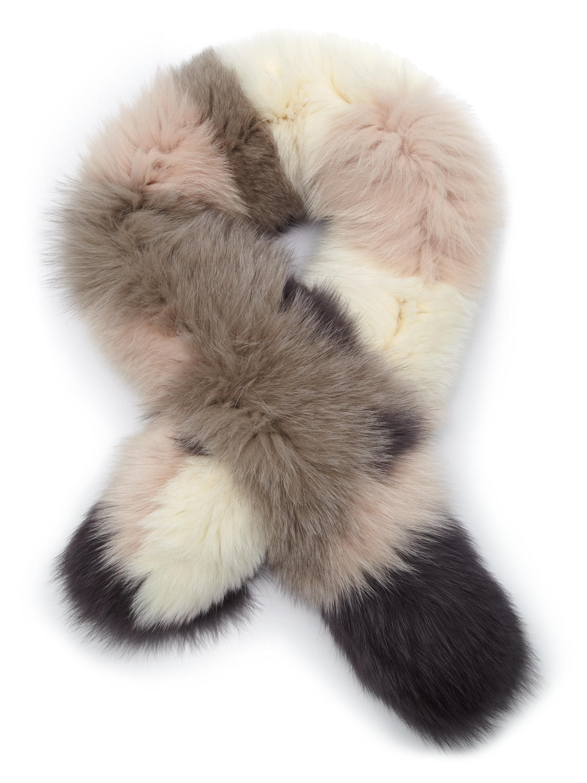 fox fur scarf national sheriffs association