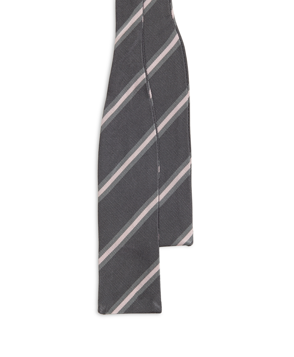 Brooks brothers Grey Framed Stripe Bow Tie in Gray for Men ...