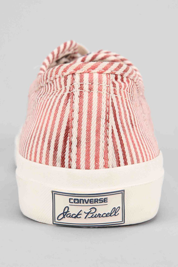 33939d4b8136c3 Lyst - Converse Jack Purcell Stripes Sneaker in Pink for Men