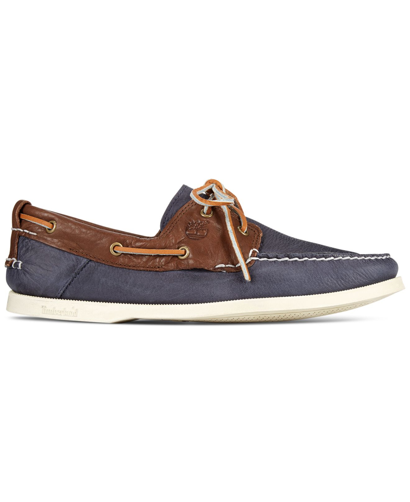 timberland boat shoes navy blue