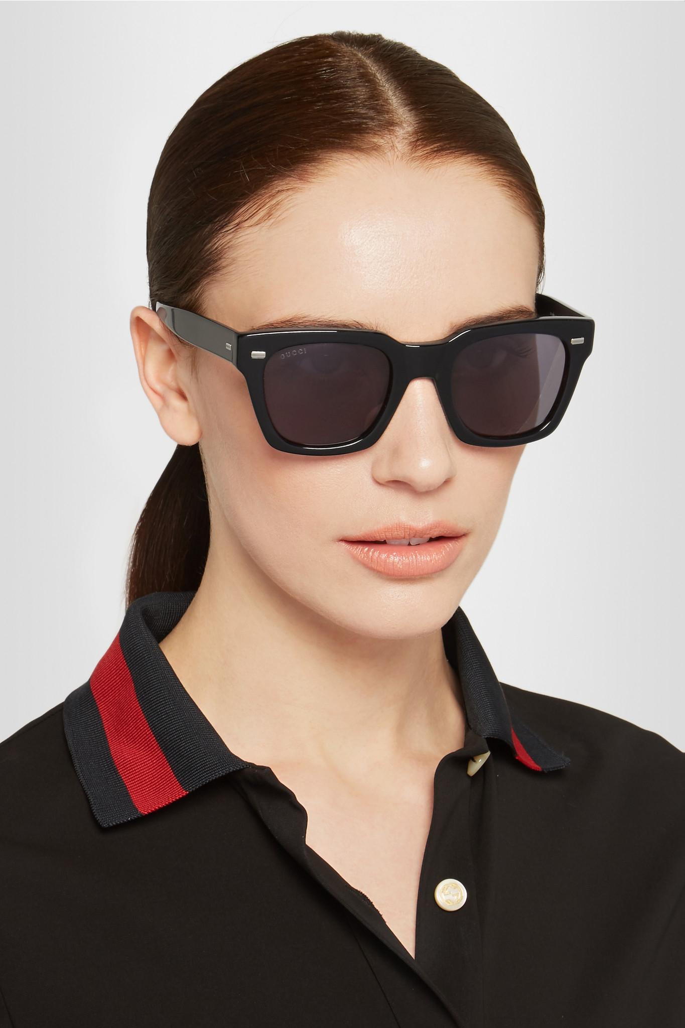 c87d101ddf Gucci Women s Oversized Acetate Sunglasses