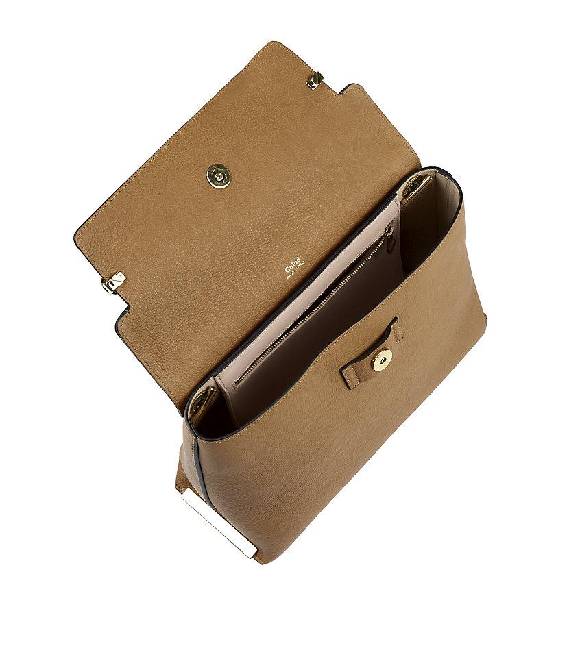 Chlo�� Medium Clare Shoulder Bag in Brown | Lyst