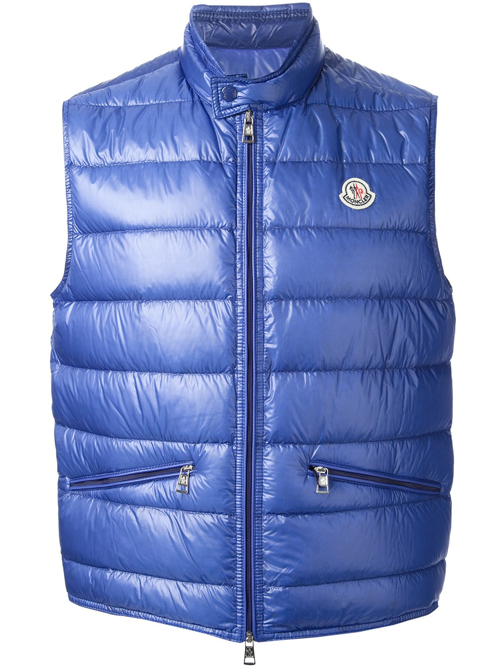 9ae8bee94 moncler gilet blue