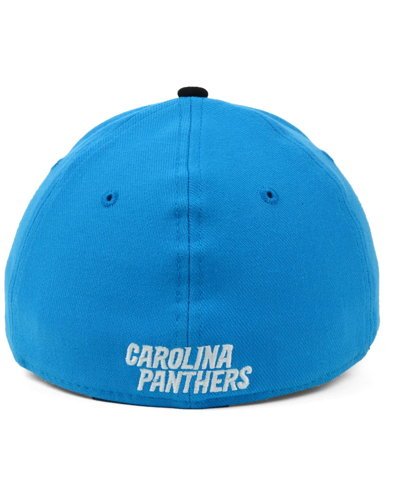 e80dad86810 ... discount lyst ktz carolina panthers on field rev 39thirty cap in blue  for men 6d164 8bfdc