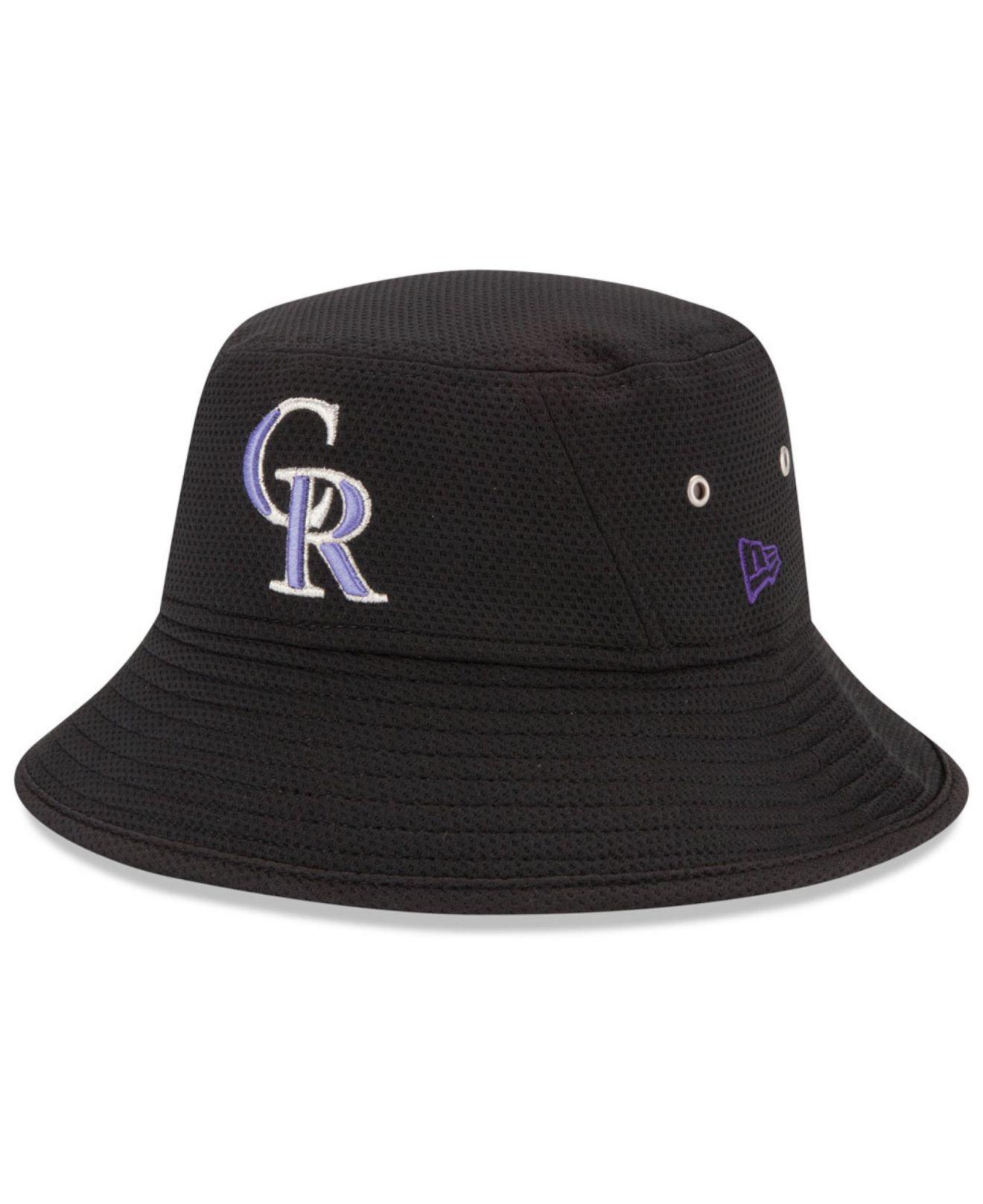 9a302d87 ... usa lyst ktz colorado rockies team redux bucket hat in black for men  2e2ef beb43