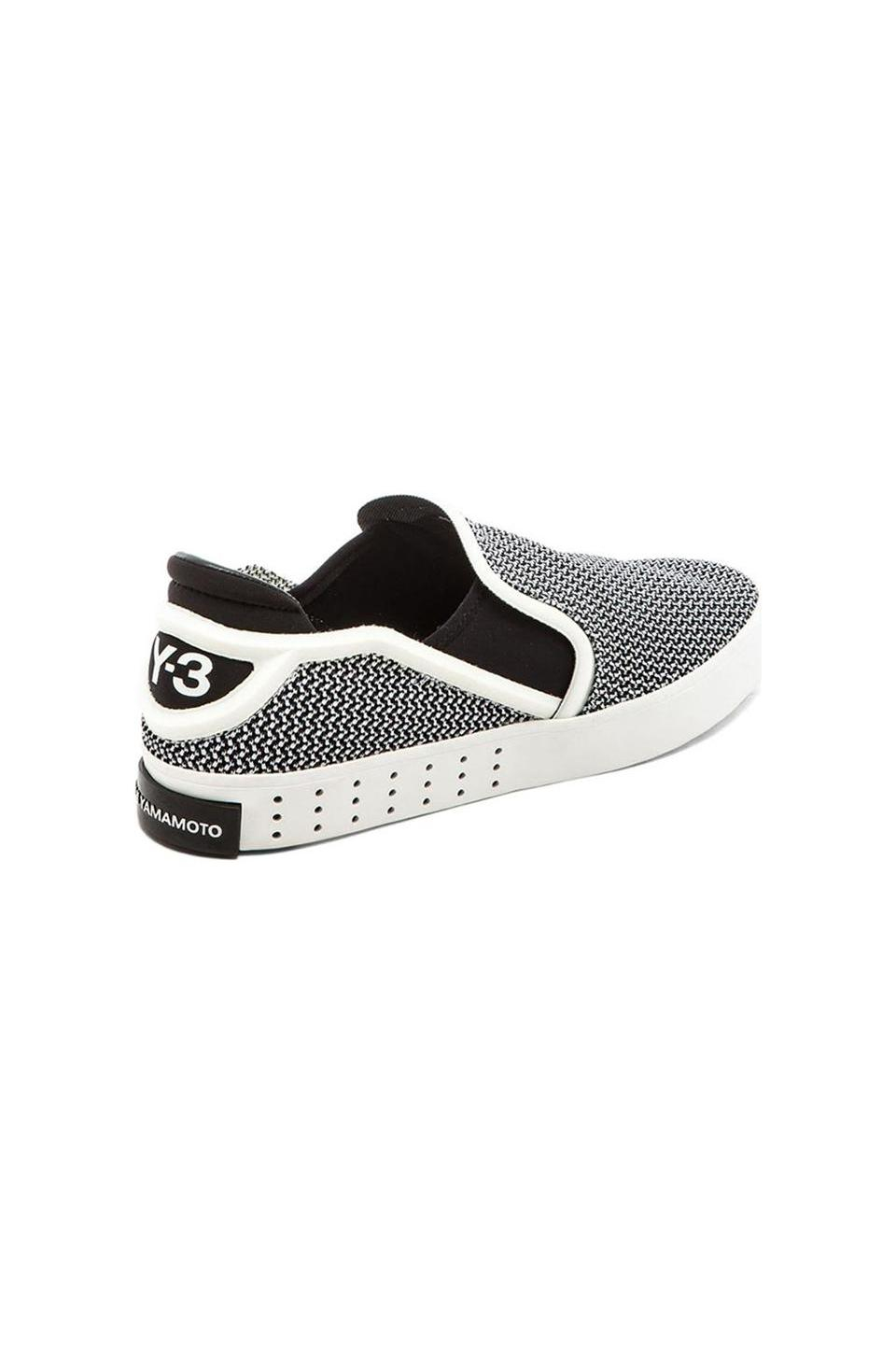 bc3374431afc6 adidas y3 laver slip on white sneakers uk