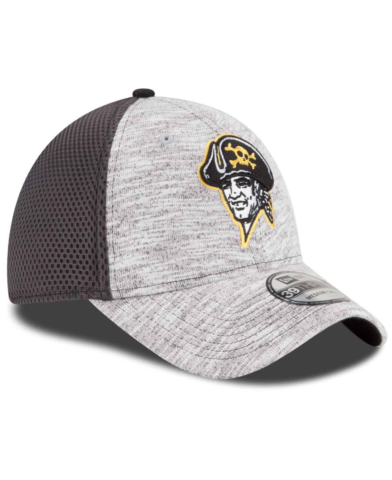 Sporting Goods MLB Pittsburgh Pirates New Era 2018 Clubhouse 39THIRTY Stretch Fit Cap Hat Baseball