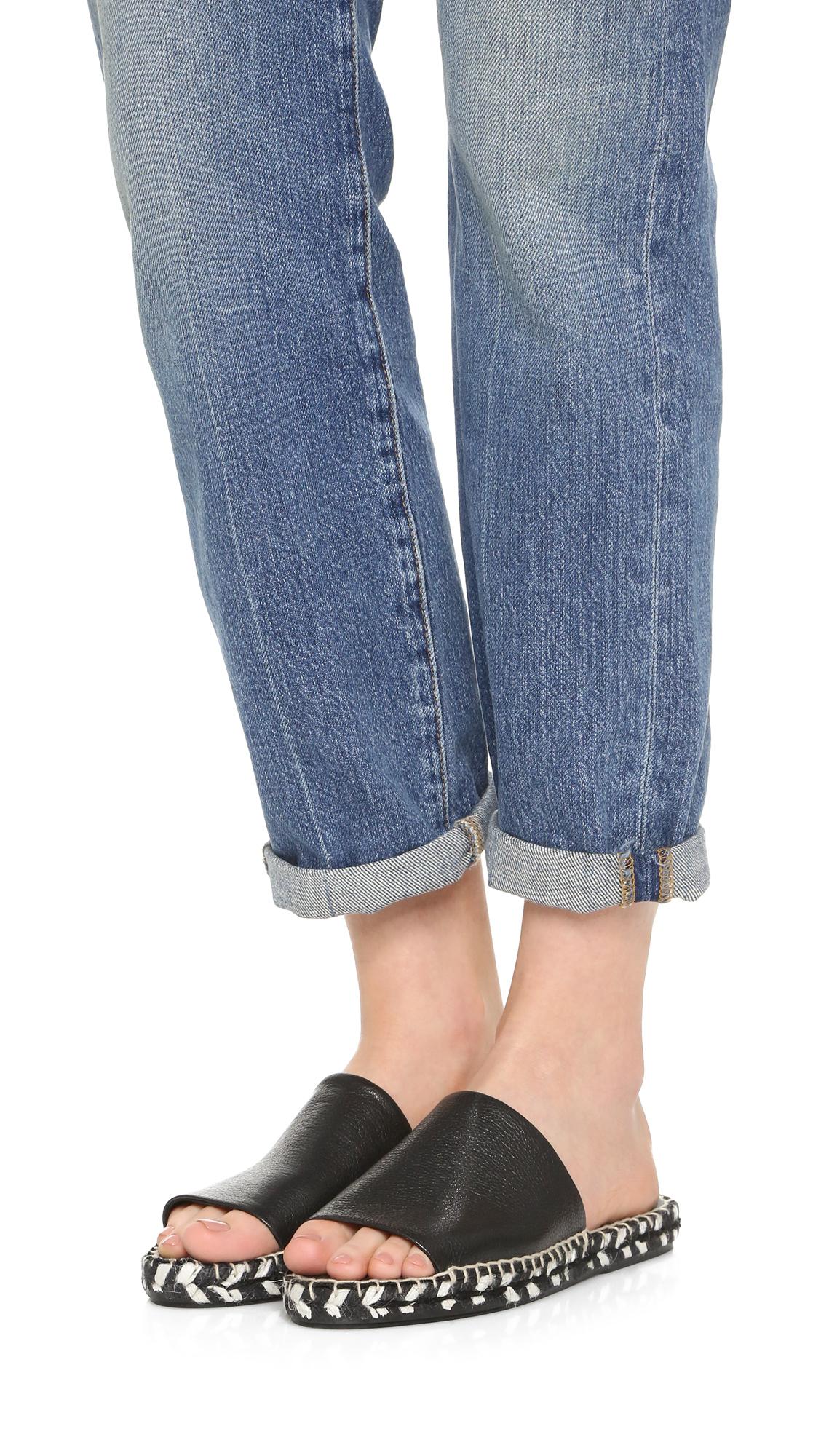 Matt Bernson Palma Peep Toe Slide Sandal 3RQGjx680w