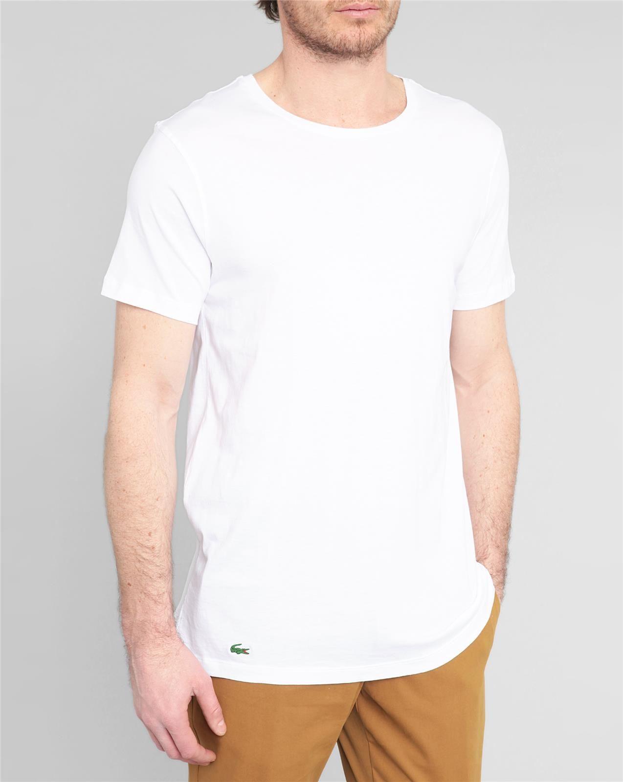 4b848d4230dc7 Lacoste Essentials Supima Cotton 3-Pack V-Neck T-Shirt