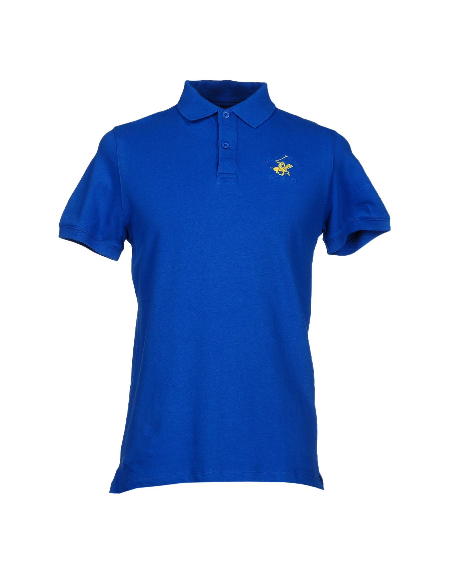 Beverly Hills Polo Club Polo Shirt in Blue for Men