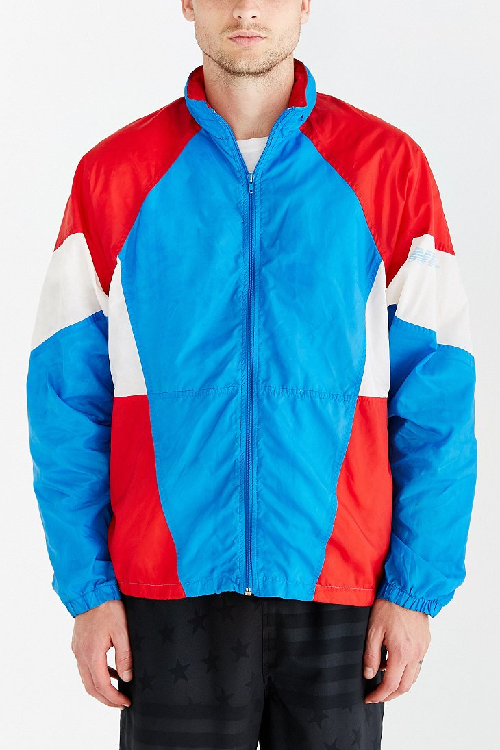8b1970bc8616 Lyst - Without Walls Vintage Nike Red White + Blue Windbreaker ...