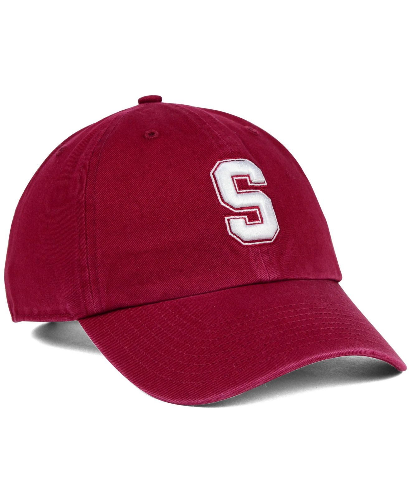 050d45ba9ab Lyst - 47 Brand Stanford Cardinal Clean-up Cap in Red for Men