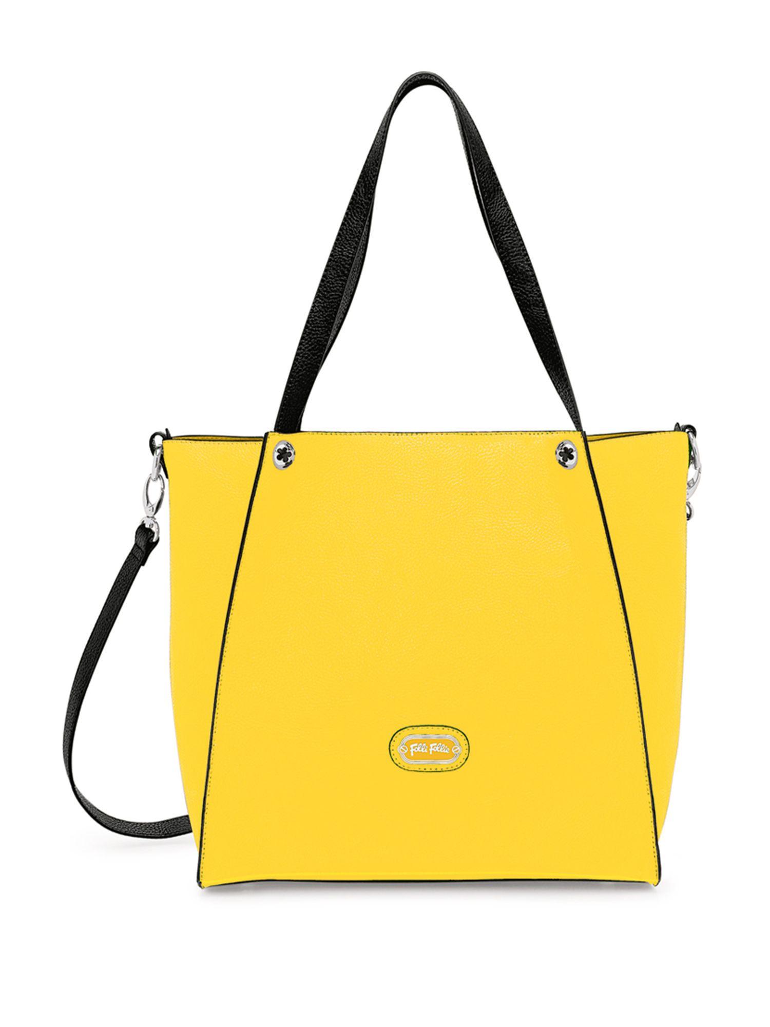 Folli Follie Flower Ball Shoulder Bag In Yellow Lyst