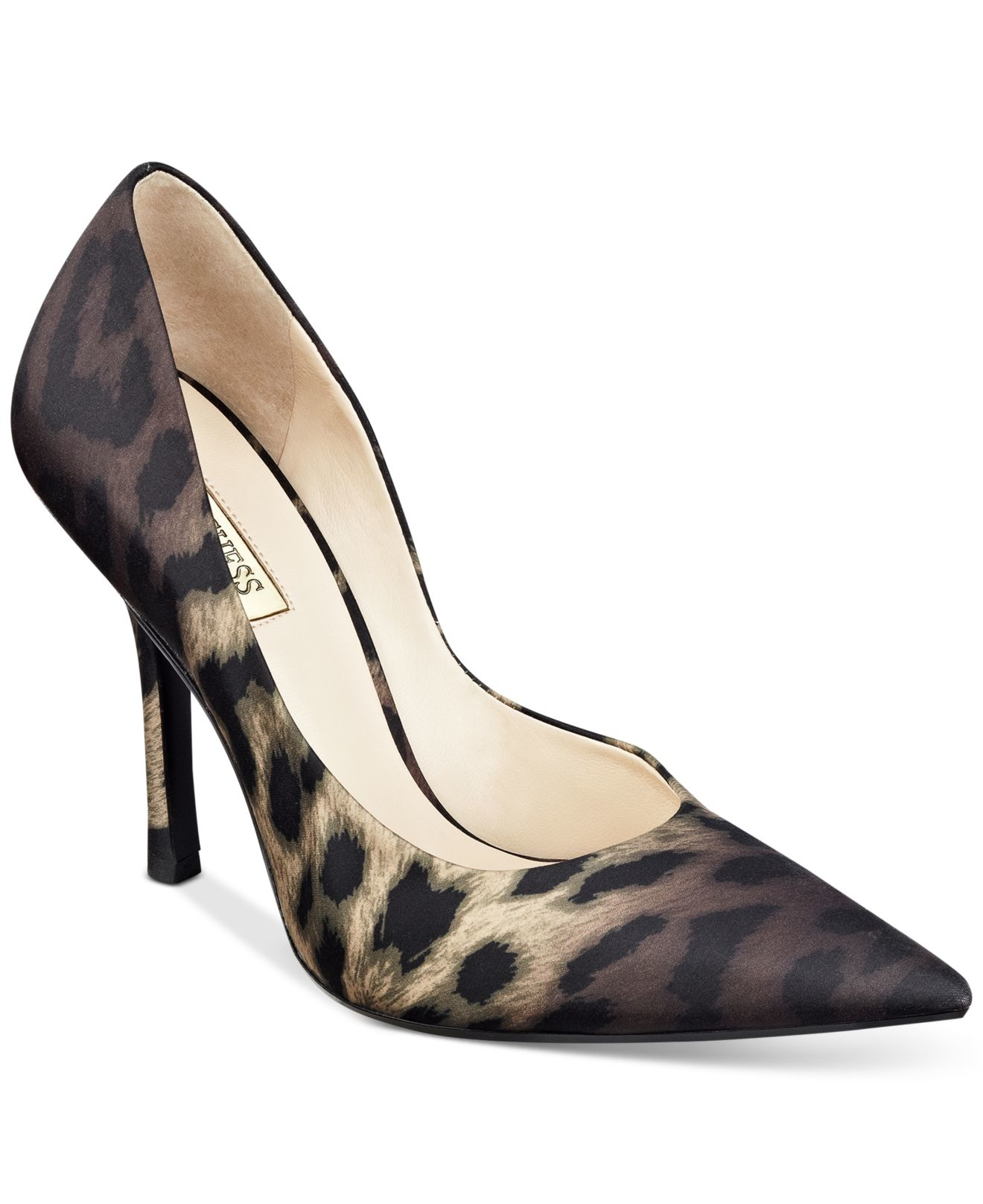 Guess Leopard Print Heels Shoes