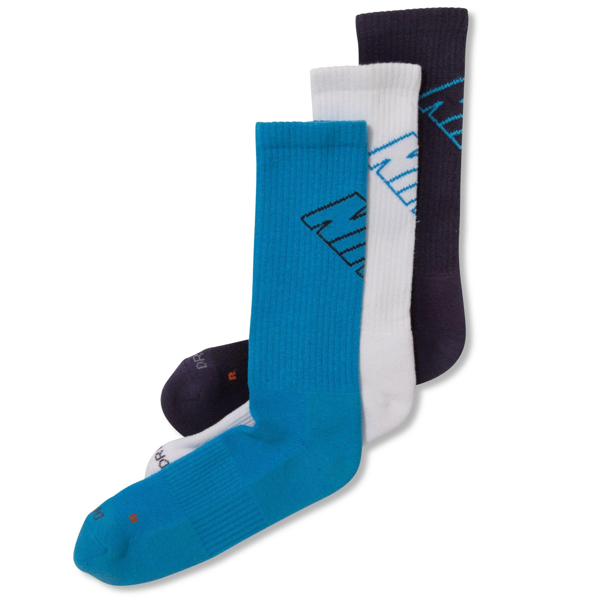 a8e382f56 Nike Mens Ultimatum Drifit Crew Socks 3pack in Black for Men - Lyst