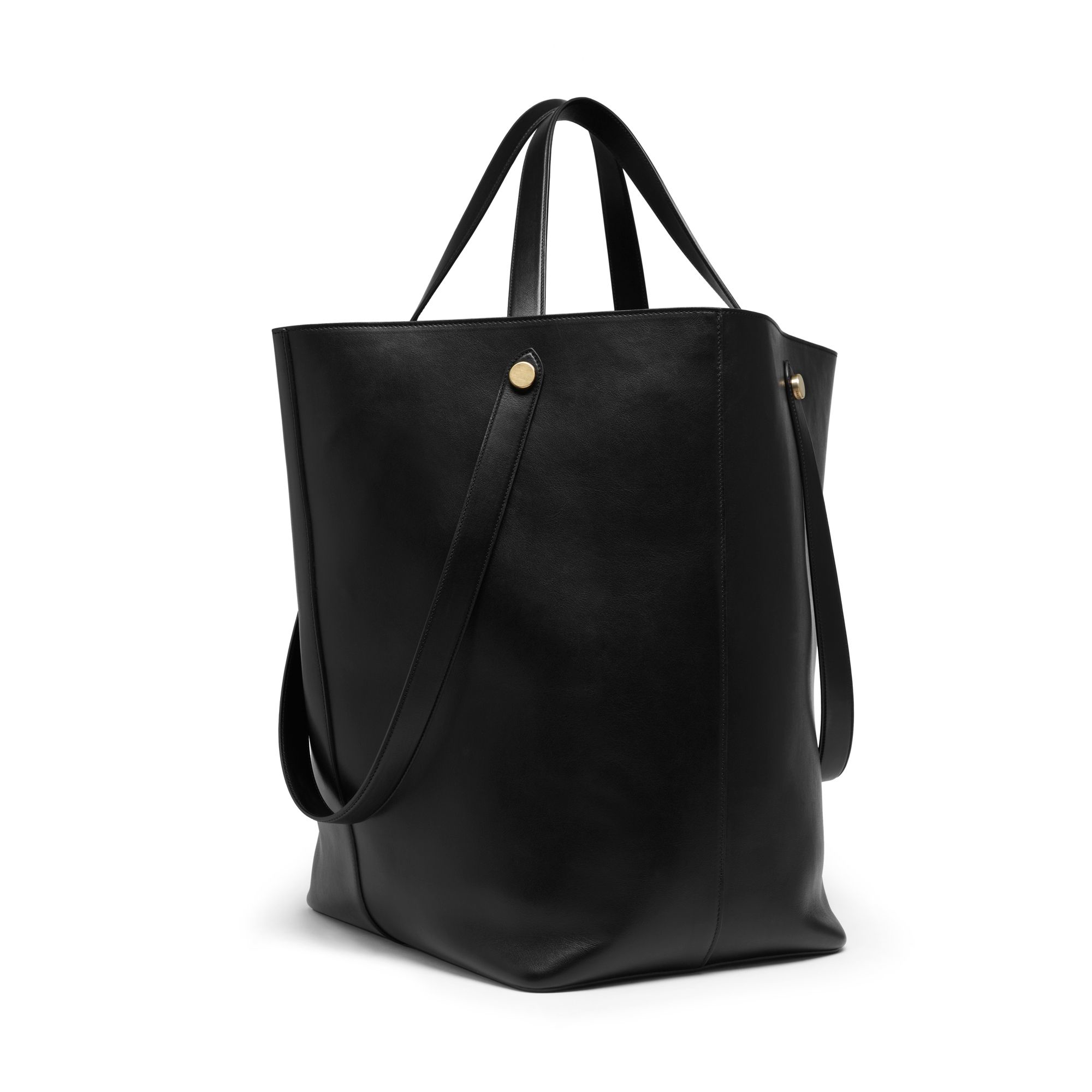 d25039f453 Lyst - Mulberry Oversized Kite Leather Tote in Black