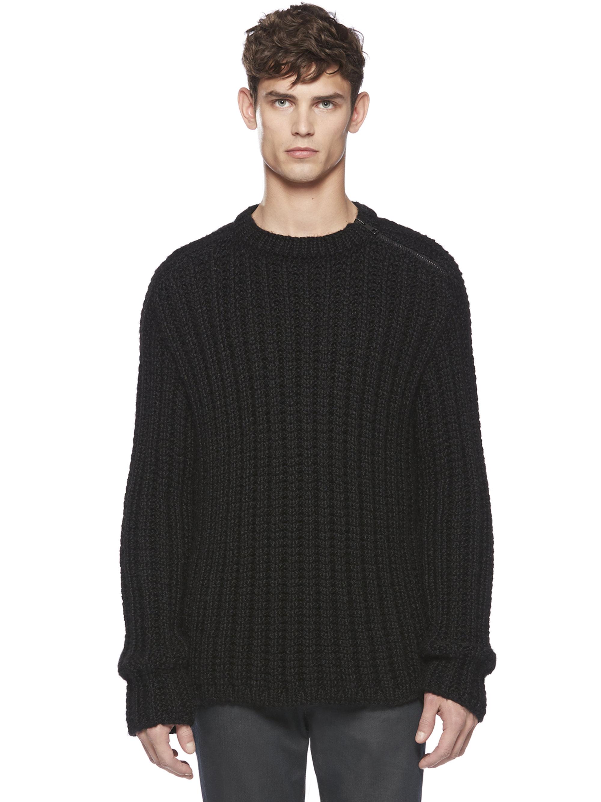 Isabel Marant Nordic Crewneck Star Intarsia Boxy Wool-Mohair Sweater Details Isabel Marant