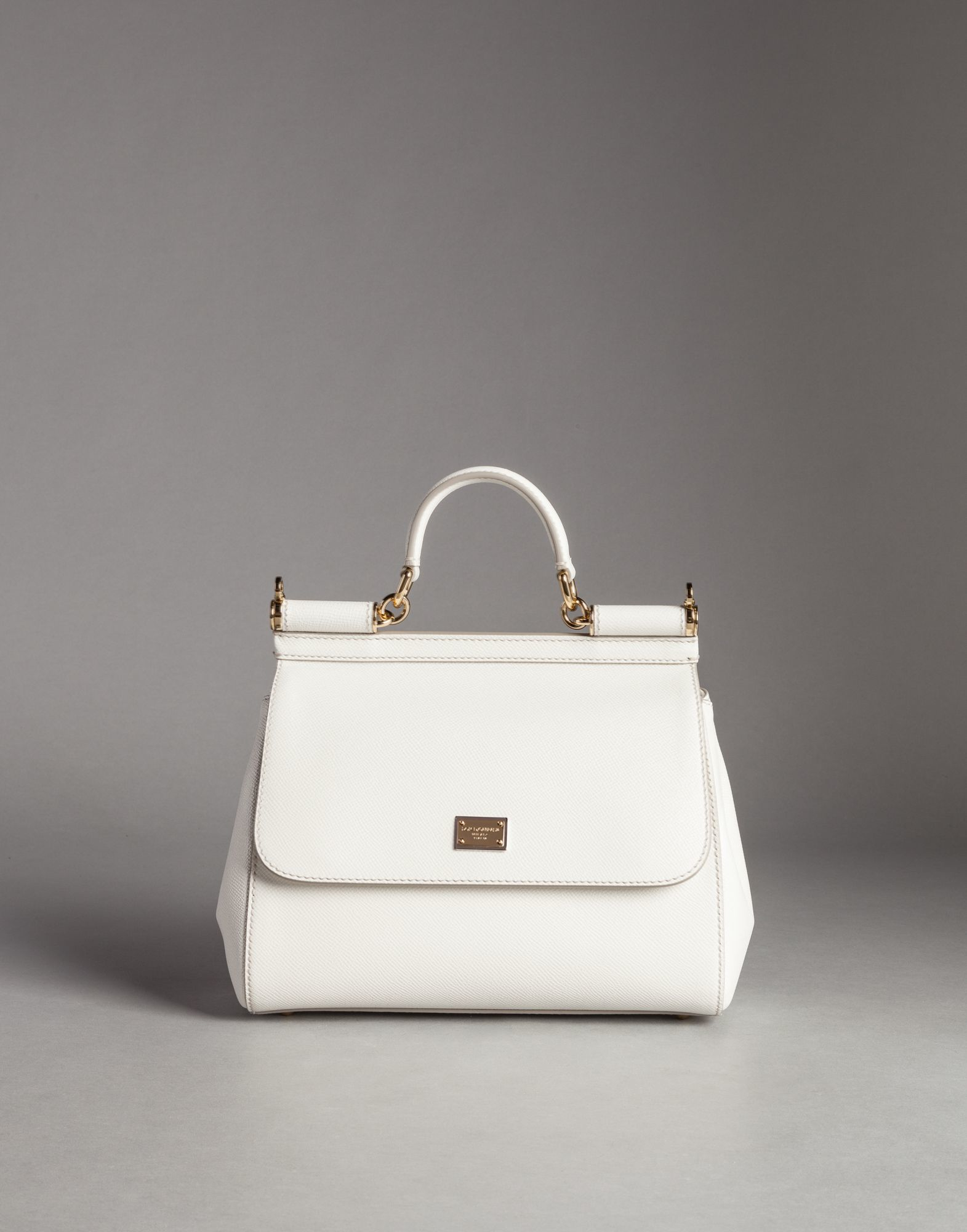 medium Sicily shoulder bag - White Dolce & Gabbana