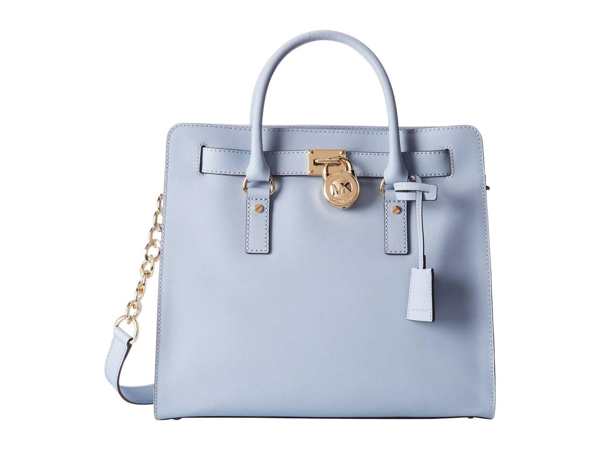 c92b0a220fae Lyst - MICHAEL Michael Kors Hamilton Large North south Tote in Blue
