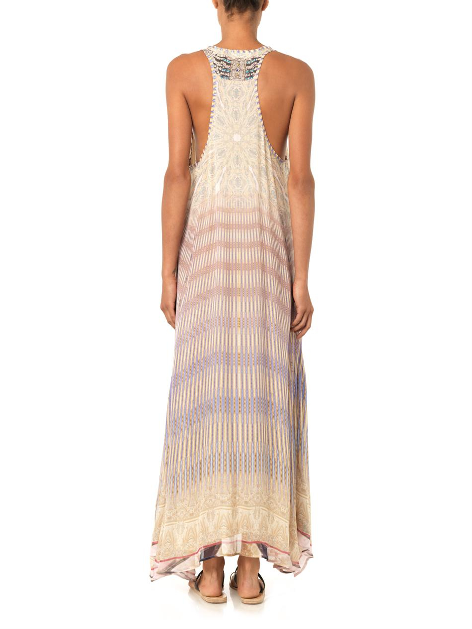 Camilla earth chant maxi dress
