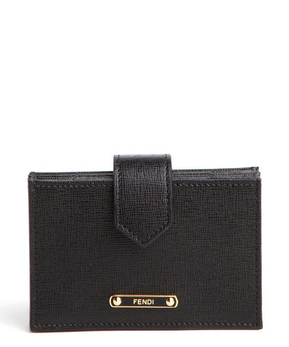 Fendi Card Holder Black