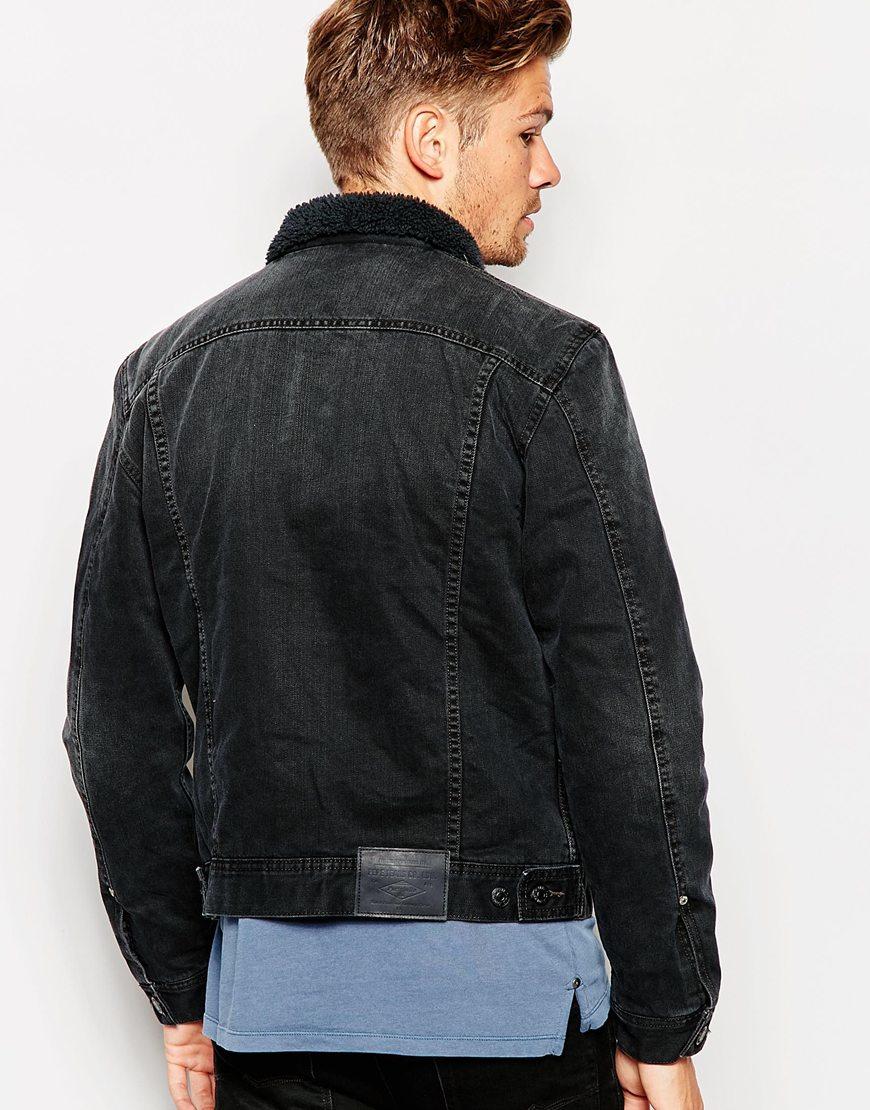 pepe jeans denim jacket in blue for men lyst. Black Bedroom Furniture Sets. Home Design Ideas